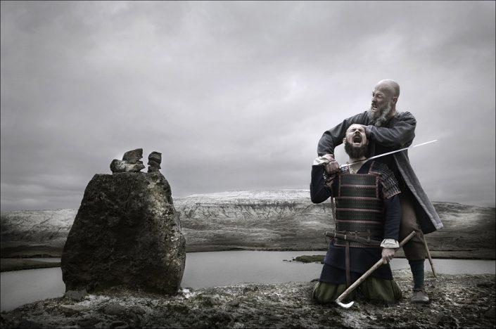 Portræt, portrætfoto, male, vikings